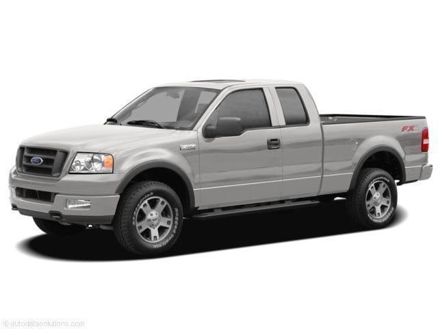 2008 Ford F150 4WD Supercab XLT 5 1/2