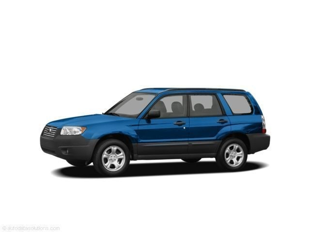 2008 Subaru Forester 2.5 X Premium Package Wagon