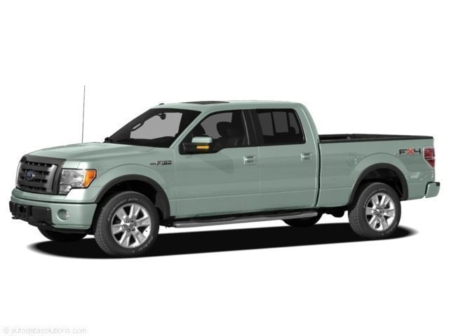 2010 Ford F-150 4WD Supercrew Truck SuperCrew Cab