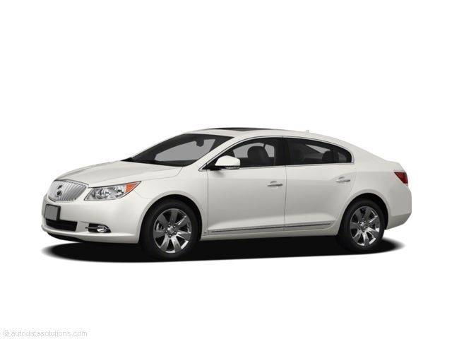 Used 2011 Buick Lacrosse CXS, Sunroof, One-Owner Sedan in the Greater St. Paul & Minneapolis Area