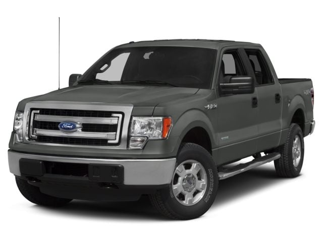 2014 Ford F-150 XLT 2WD Supercrew 145 Truck SuperCrew Cab
