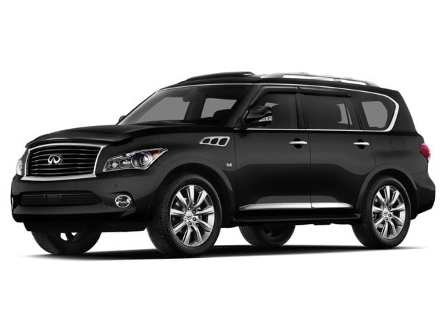 Used 2014 Infiniti QX80 with Theater Package SUV for sale in the Boston MA area