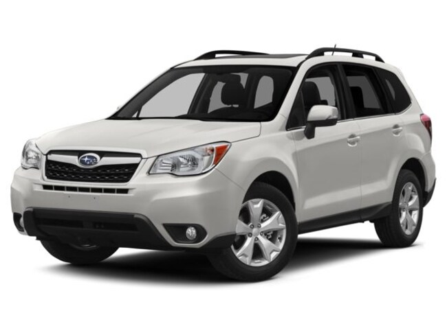 Certified Pre-Owned 2015 Subaru Forester 2.5i Limited Sport Utility Near Jersey City