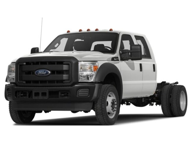 2016 Ford F-450 Chassis XL Truck Crew Cab