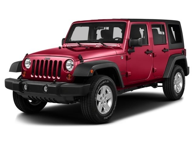 2016 Jeep Wrangler Unlimited Sahara 4x4 SUV