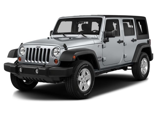 2016 Jeep Wrangler Unlimited Rubicon 4x4 SUV