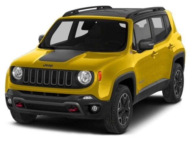 New 2016 Jeep Renegade Trailhawk 4x4 SUV for sale in the Boston MA area