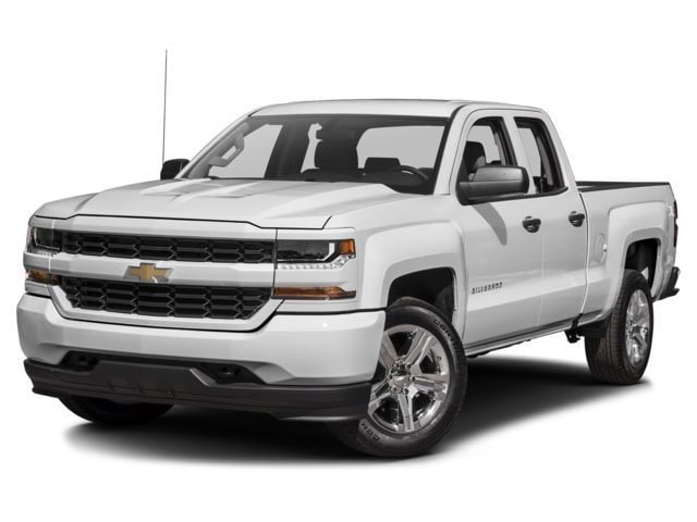 New 2017 Chevrolet Silverado 1500 Silverado Custom Truck Double Cab for sale in the Boston MA area