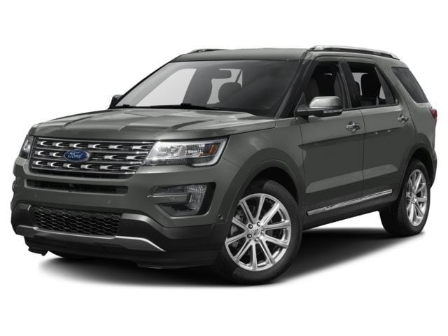 New 2017 Ford Explorer Limited SUV for sale in the Boston MA area