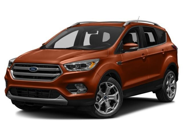 New 2017 Ford Escape Titanium SUV in Soda Springs, ID