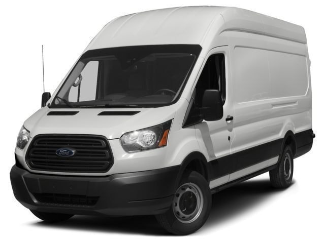 2017 Ford Transit-350 w/Sliding Pass-Side Cargo-Door Van High Roof HD Extended-Length Cargo Van