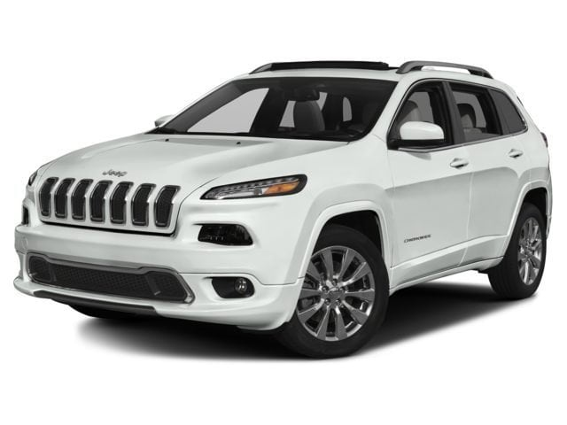 New 2017 Jeep Cherokee Overland 4x4 SUV for sale in the Boston MA area