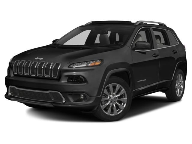 New 2017 Jeep Cherokee Overland SUV for sale in the Boston MA area