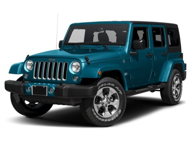 2017 Jeep Wrangler Unlimited Sahara 4x4 SUV