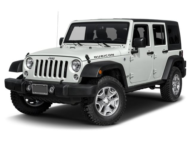 New 2017 Jeep Wrangler Unlimited Bright White Rubicon 4x4
