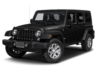 New 2017 Jeep Wrangler Unlimited Rubicon 4x4 SUV in Sarasota, FL