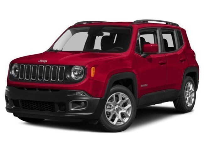 New 2017 Jeep Renegade Latitude 4x4 SUV for sale in marshfield wi