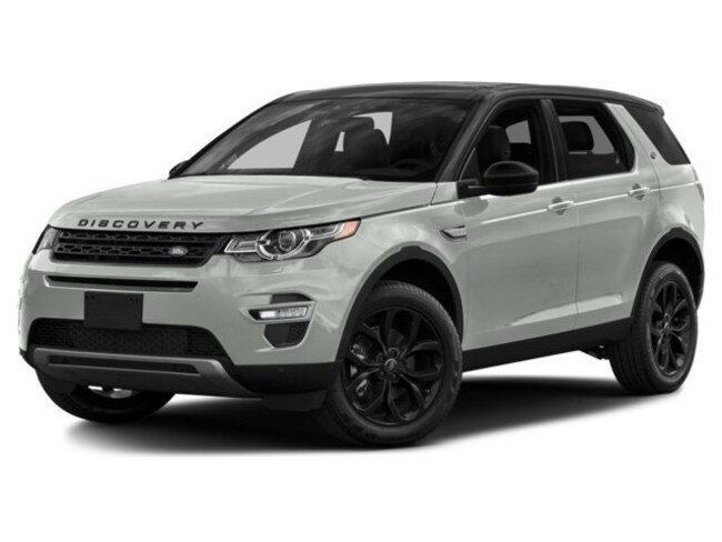 2017 Land Rover Discovery Sport HSE Luxury 4WD Sport Utility