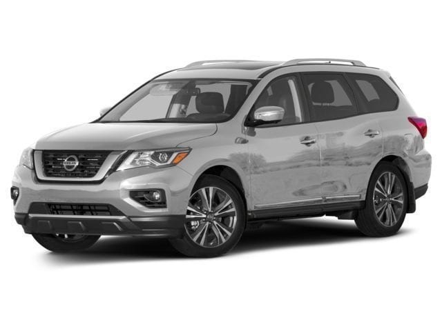 New 2017 Nissan Pathfinder SV SUV for sale in the Boston MA area
