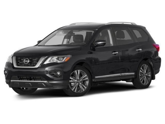 New 2017 Nissan Pathfinder Platinum SUV for sale in the Boston MA area
