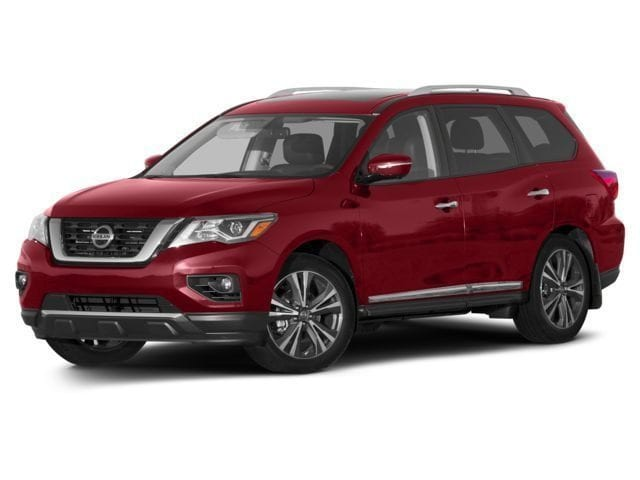 New 2017 Nissan Pathfinder PLATINUM 4X4 SUV Minneapolis
