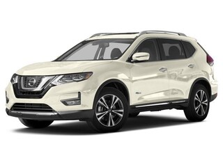 New 2017 Nissan Rogue Hybrid SL SUV 5N1ET2MV9HC793108 for sale in Saint James, NY at Smithtown Nissan