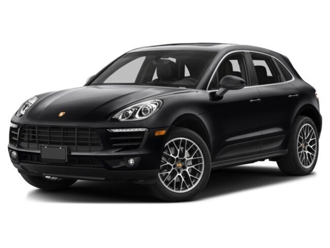 NEW 2017 Porsche Macan Turbo SUV in Los Angeles