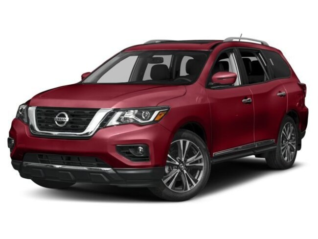 2018 Nissan Pathfinder Platinum SUV For Sale in Swazey, NH