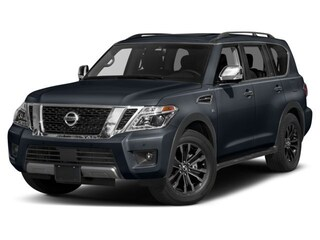 New 2018 Nissan Armada Platinum SUV JN8AY2NE6J9730607 for sale in Saint James, NY at Smithtown Nissan