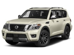 New 2018 Nissan Armada Platinum SUV in Lancaster, MA
