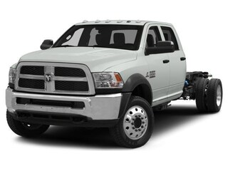 2018 Ram 5500 Chassis Tradesman Truck Crew Cab