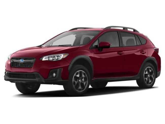 New 2018 Subaru Crosstrek 2.0i Premium w/ EyeSight, Moonroof, Blind Spot Detection, Rear Cross Traffic Alert, and Starlink SUV JF2GTADC7J8254194 for sale near Greenville, SC