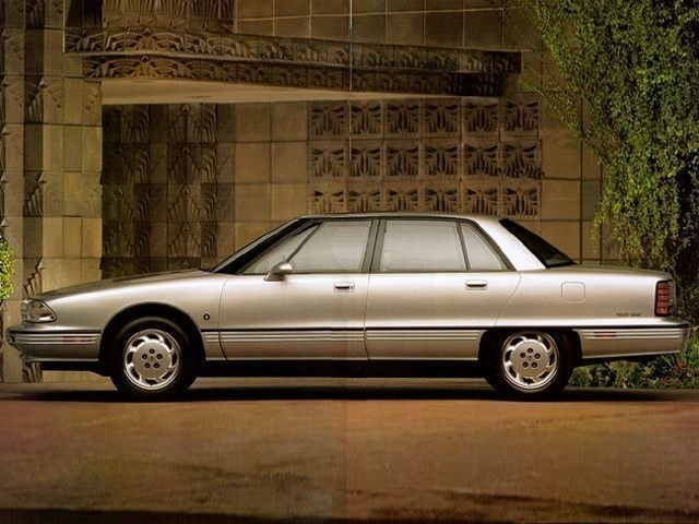 1992 Oldsmobile 98 4d Sedan Regency Elite