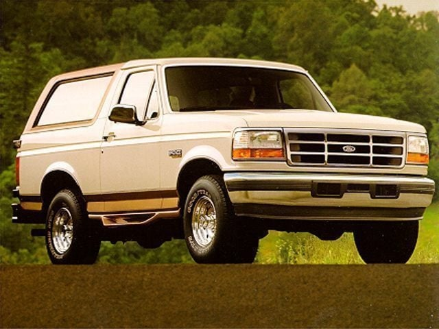 1995 Ford Bronco SUV