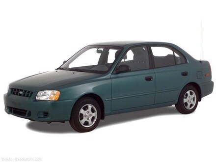2000 Hyundai Accent GL GL  Sedan