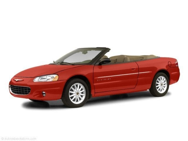 2002 Chrysler Sebring Limited Limited  Convertible