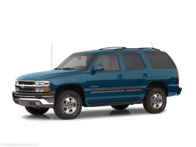 2002 Chevrolet Tahoe 4WD SUV