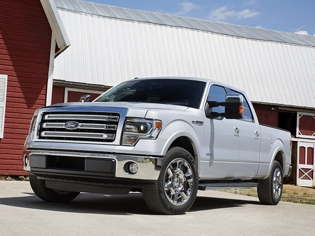 2014 Ford F-150 Lariat 2WD Supercrew 145 Truck SuperCrew Cab