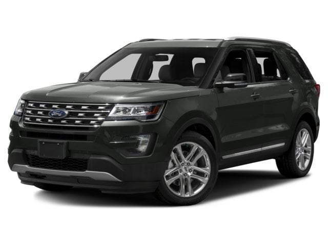 New 2017 Ford Explorer XLT SUV for sale in the Boston MA area