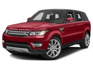 New 2017 Land Rover Range Rover Sport 3.0L V6 Supercharged HSE SUV 17A4434 in Wilmington, DE