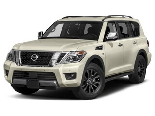 New 2018 Nissan Armada Platinum SUV JN8AY2NE5J9730551 for sale in Saint James, NY at Smithtown Nissan