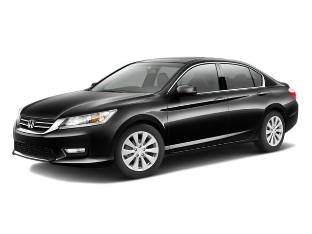 Certified Pre-Owned 2013 Honda Accord 3.5 EX-L V-6 w/ Navigation Sedan for sale in the Boston MA area