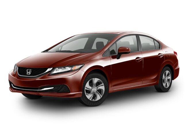 Certified Pre-Owned 2014 Honda Civic LX Sedan Bakersfield
