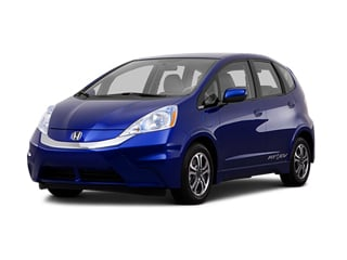 2014 Honda Fit EV Hatchback Reflection