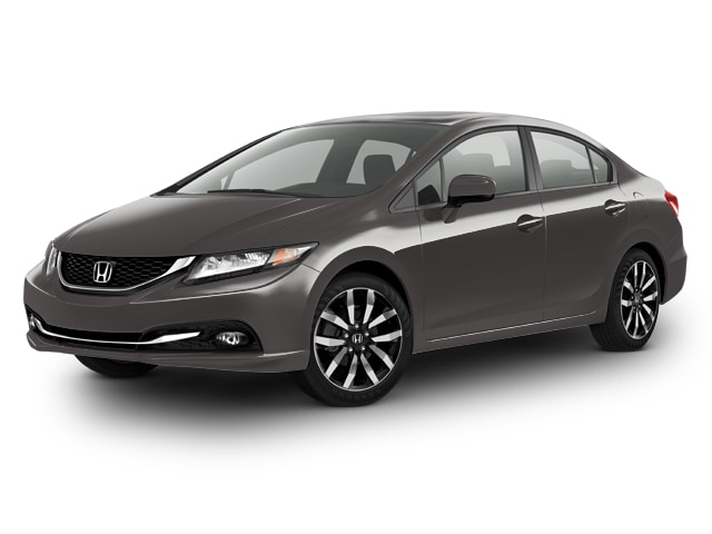 2015 Honda Civic EX-L w/Navi Sedan