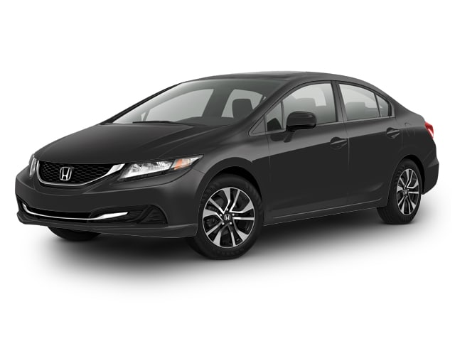 Used 2015 Honda Civic 1.8 EX Sedan for sale in the Boston MA area