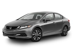 2015 Honda Civic 4dr CVT EX Sedan