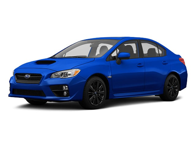2015 Subaru WRX 2.0t Limited W/Navigation System + Audio w/ Harman Sport Sedan