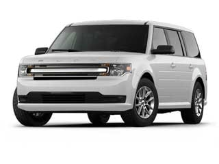 2016 Ford Flex SUV White Platinum Metallic Tri