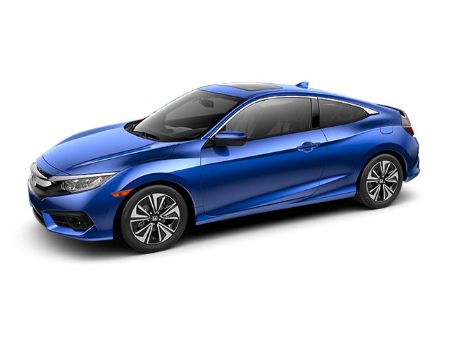 New 2016 Honda Civic EX-T Coupe in San Jose